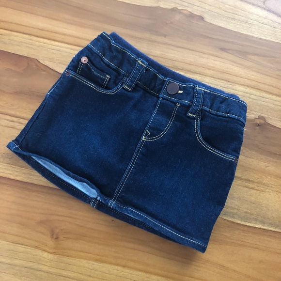 Baby Gap Other - Baby Gap Jean Skirt with Polka Dot Blumers
